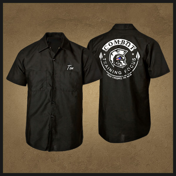 Mechanic shirt combat training focus for Red kap mechanic shirts